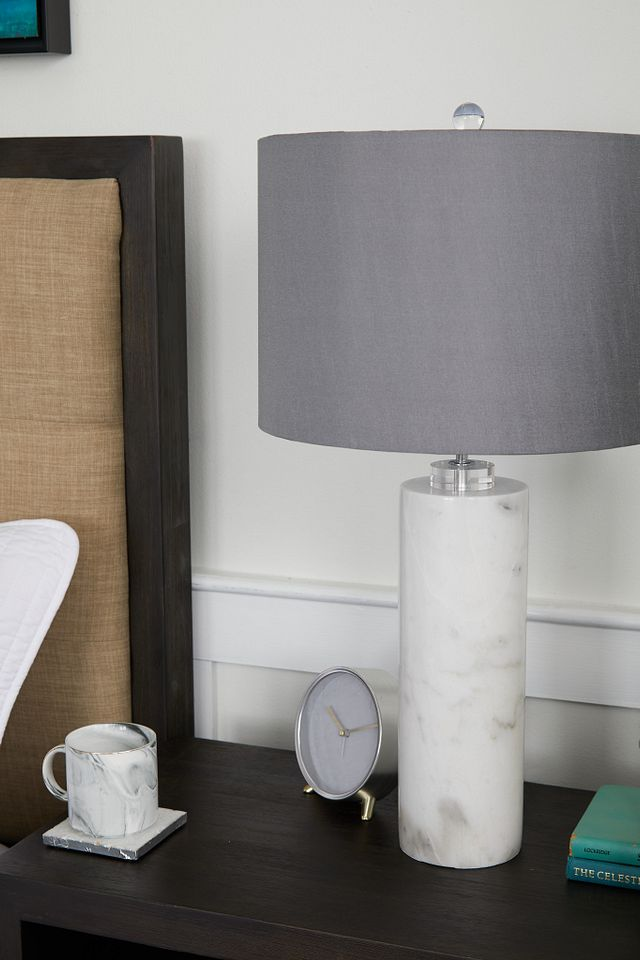 Pippi Gray Marble Table Lamp (3)