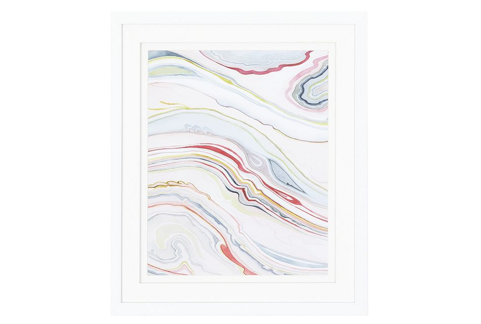 Magma Multicolored Framed Wall Art