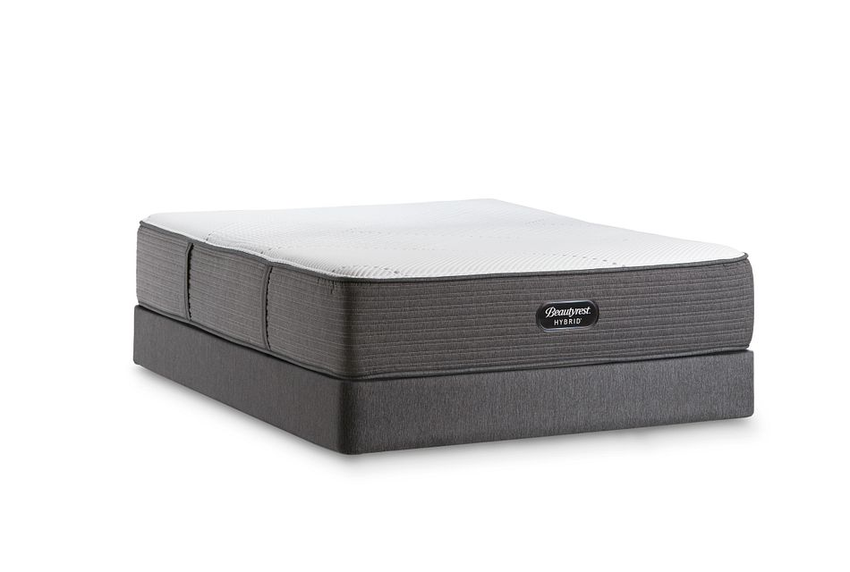 Beautyrest Brx1000-ip Plush Hybrid  Mattress Set