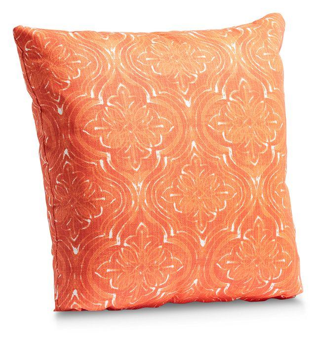 """Atlantic Orange 20"""" Indoor/outdoor Accent Pillow (1)"""