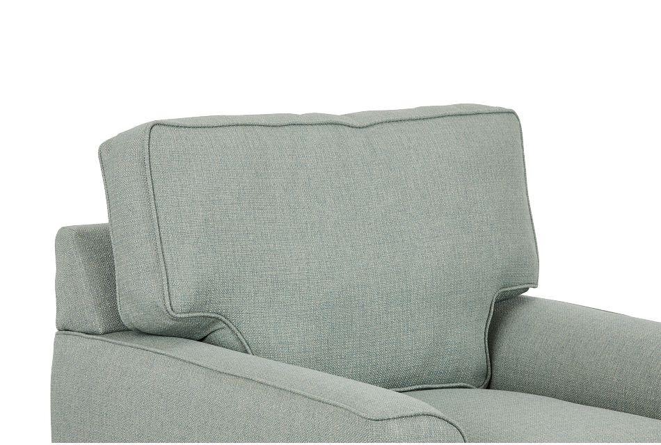 Austin Green Fabric Chair