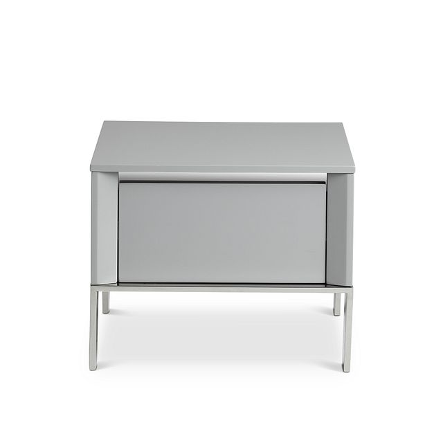 Vancouver Gray Square End Table (0)