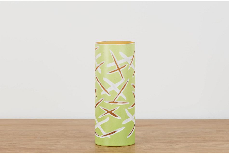 Hyker Green Short Vase