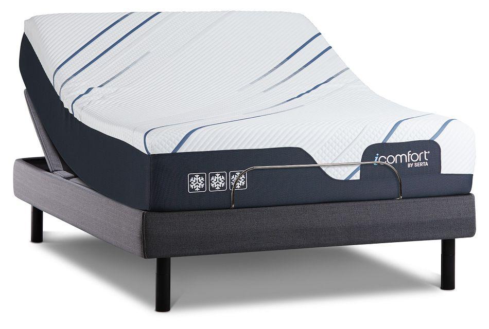 Serta Icomfort Cf3000 Plush Mperfect4 Adjustable Mattress Set
