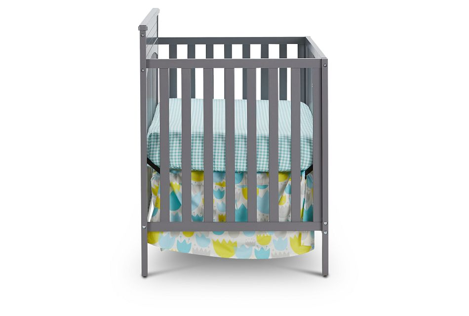 Parker Gray 4-In-1 Crib, %%bed_Size%% (2)