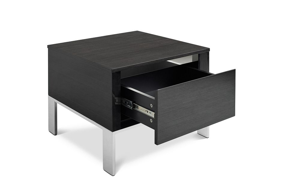 Vancouver Dark Tone Square End Table
