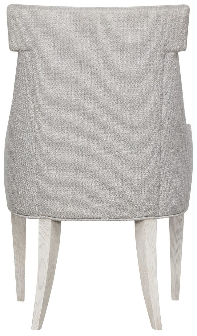 Domaine Light Taupe Upholstered Arm Chair (2)
