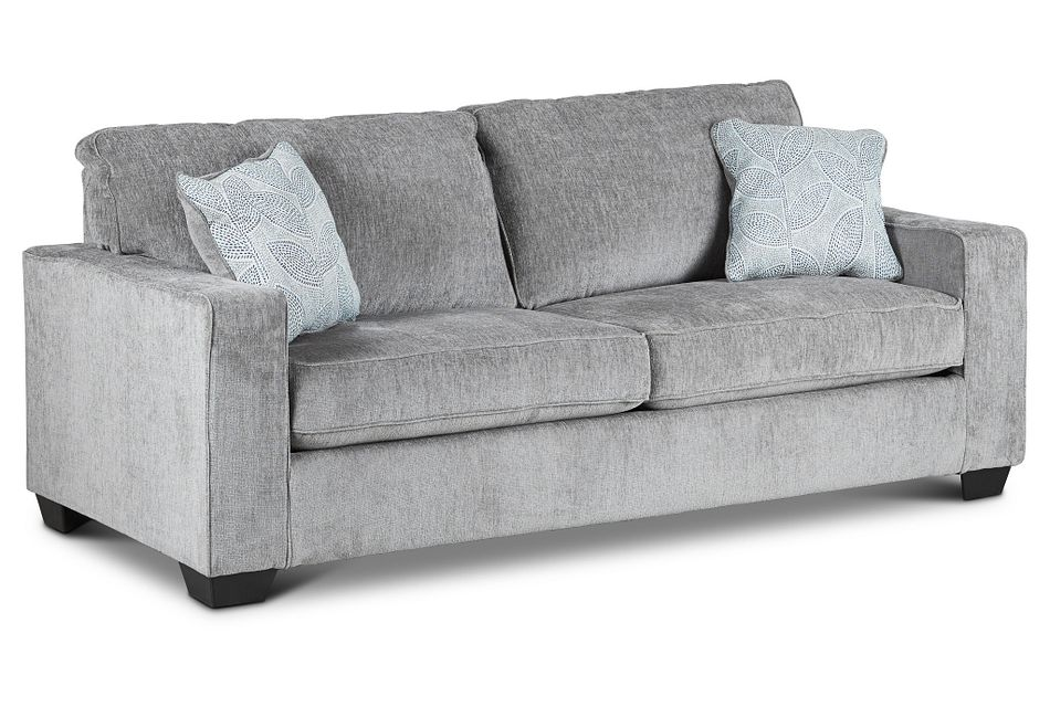 Altari Light Gray Micro Memory Foam Sleeper, %%bed_Size%% (3)