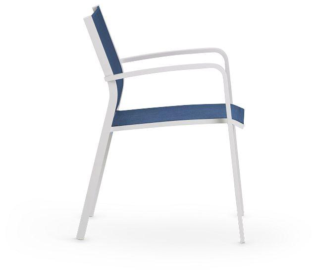 Lisbon Navy Sling Chair (2)