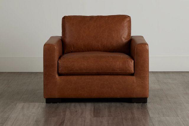Bohan Brown Leather Chair (0)