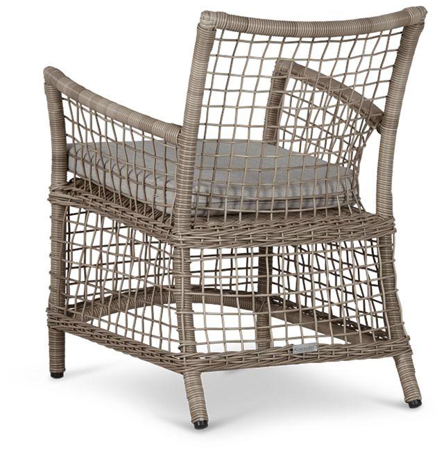 Raleigh Gray Woven Arm Chair (3)