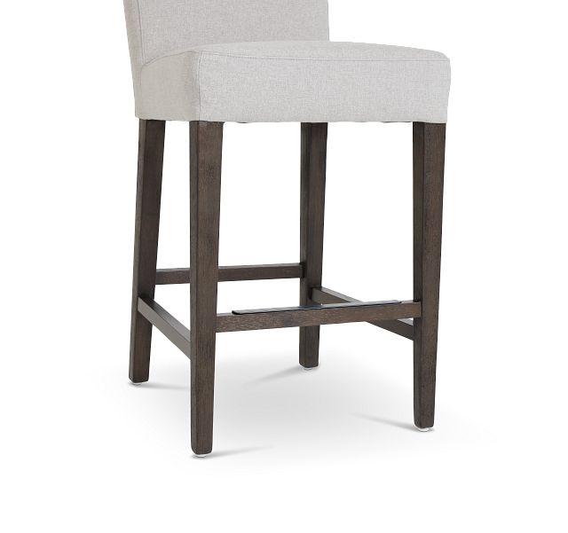 """Stout Light Gray 24"""" Upholstered Barstool"""