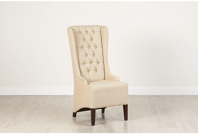 Sidney Taupe Upholstered Side Chair