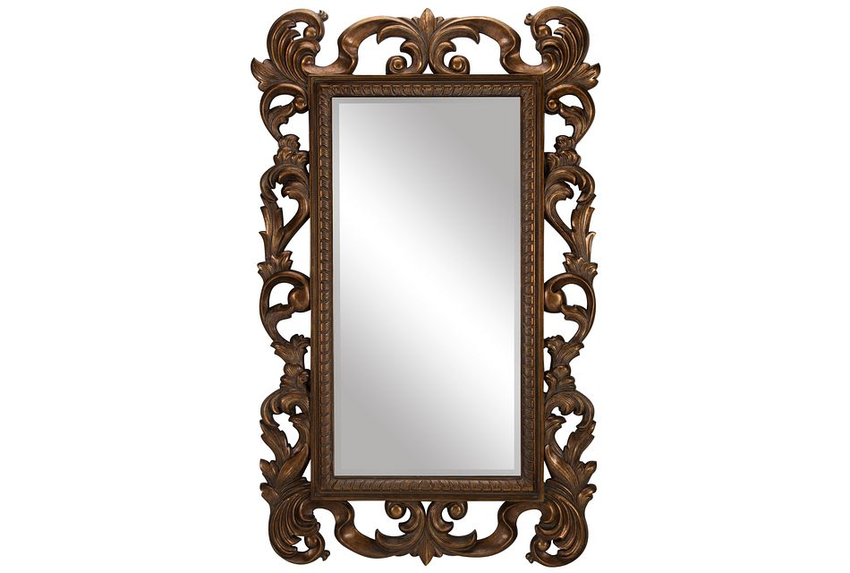 Cecily Gold  Floor Mirror