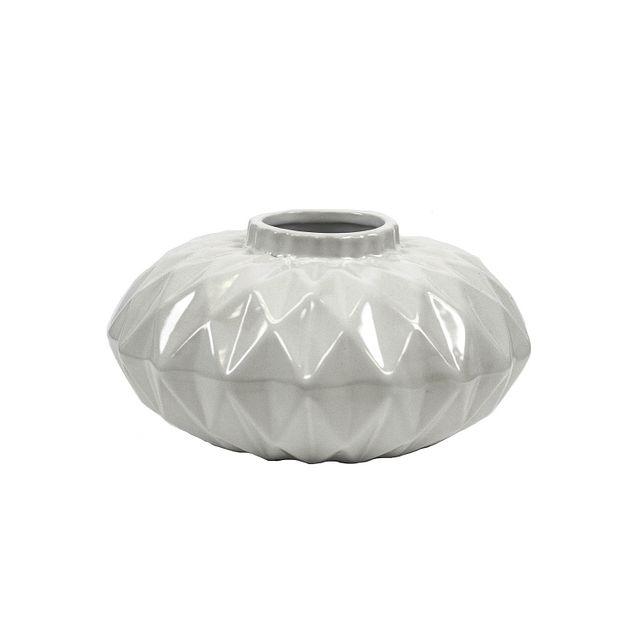 Cliona White Small Vase (0)