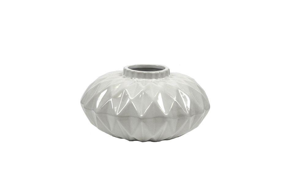 Cliona White Small Vase