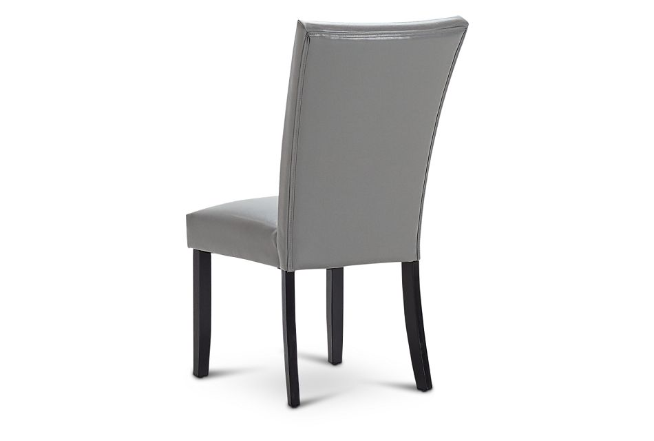 Auburn Gray Upholstered Side Chair, %%bed_Size%% (3)