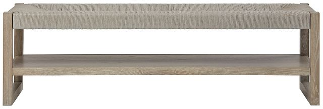 Zephyr Light Tone Woven Bench (0)