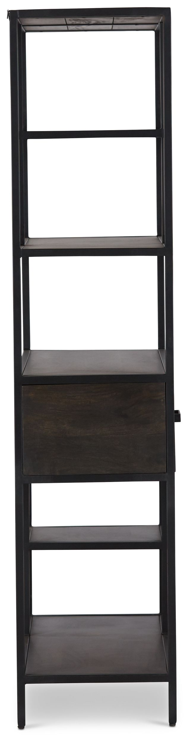 Cleo 1-drawer Metal Bookcase (3)