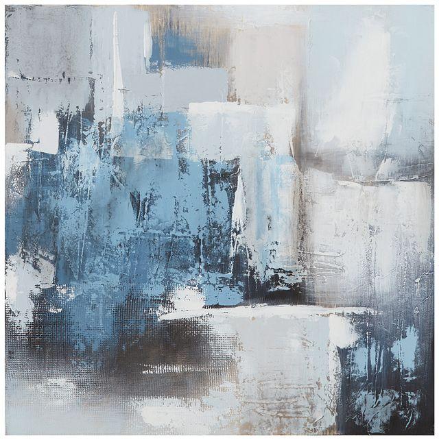 Swatch Blue Canvas Wall Art (0)