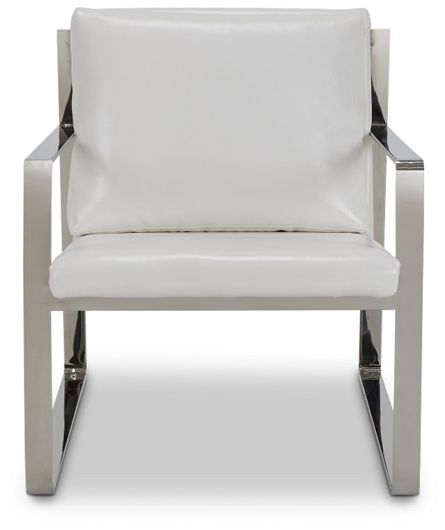Roslin White Uph Accent Chair (3)