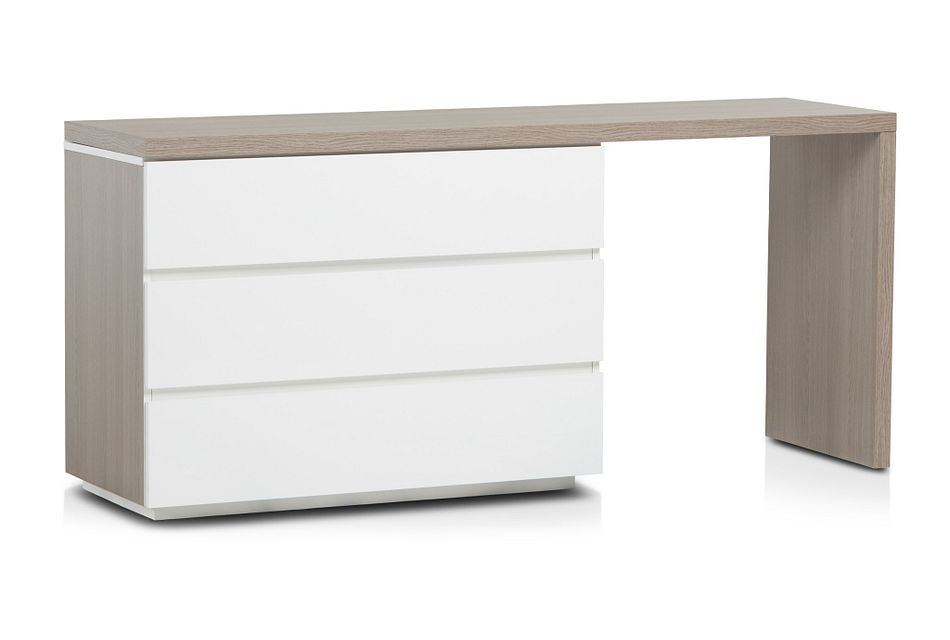 Pesaro Two-tone Dresser With Extension