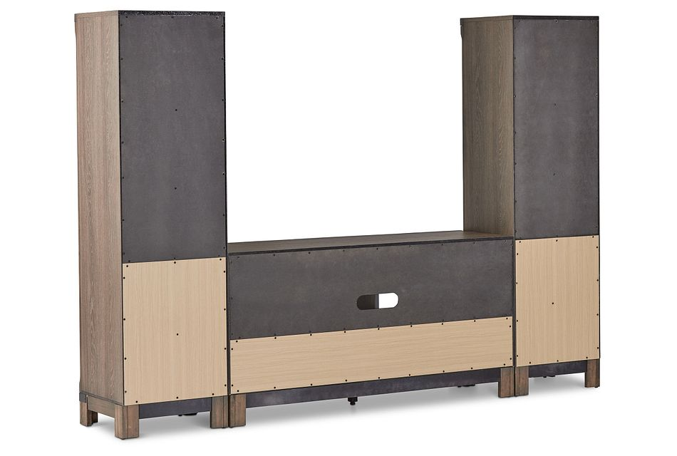 "Lancaster Mid Tone 54"" Entertainment Wall"