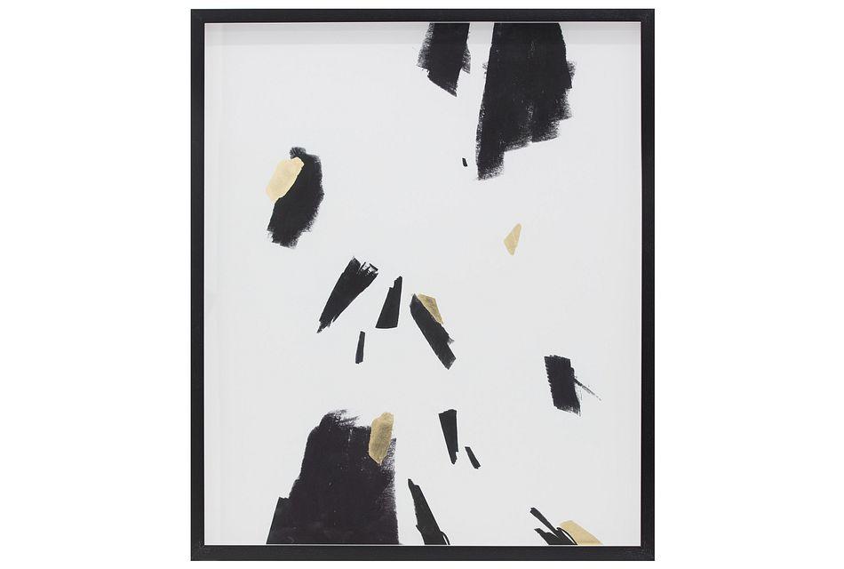 Spot Black Framed Wall Art