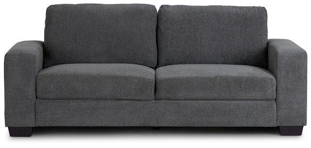 Estelle Dark Gray Fabric Sofa (1)