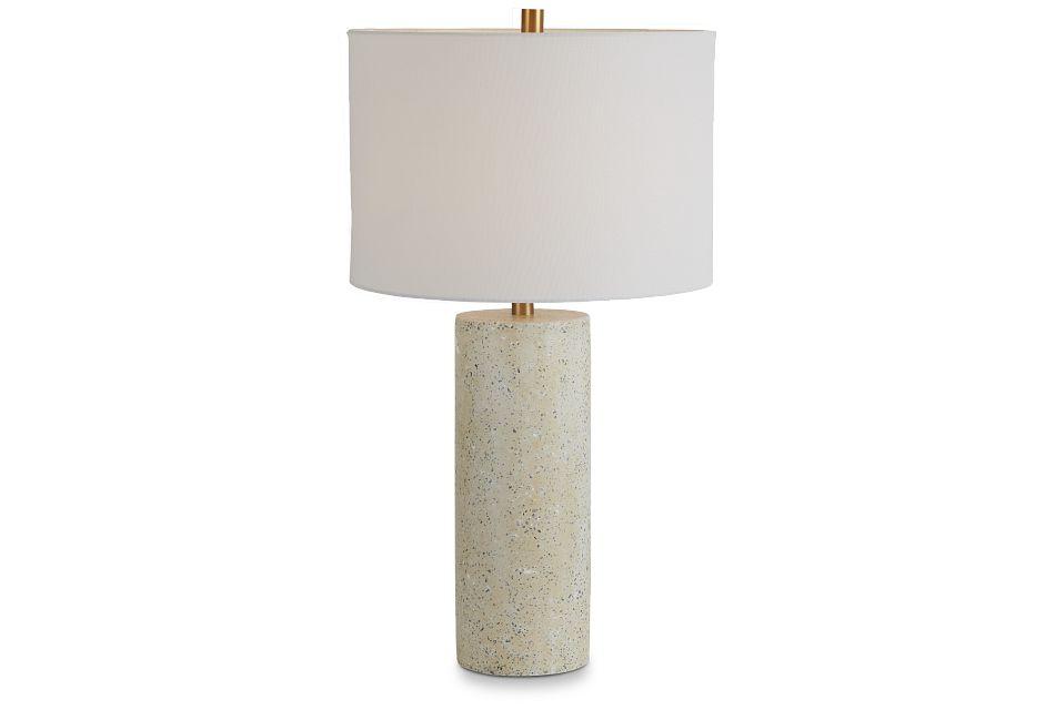 Annie White Terrazzo Table Lamp,  (2)