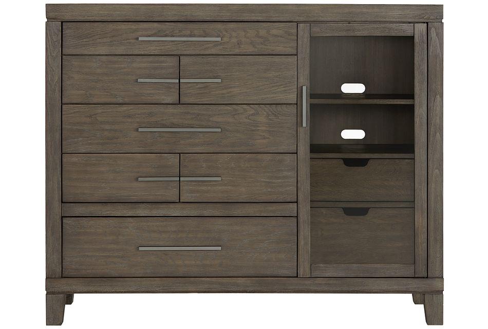 Bravo Dark Tone 7-drawer Chest
