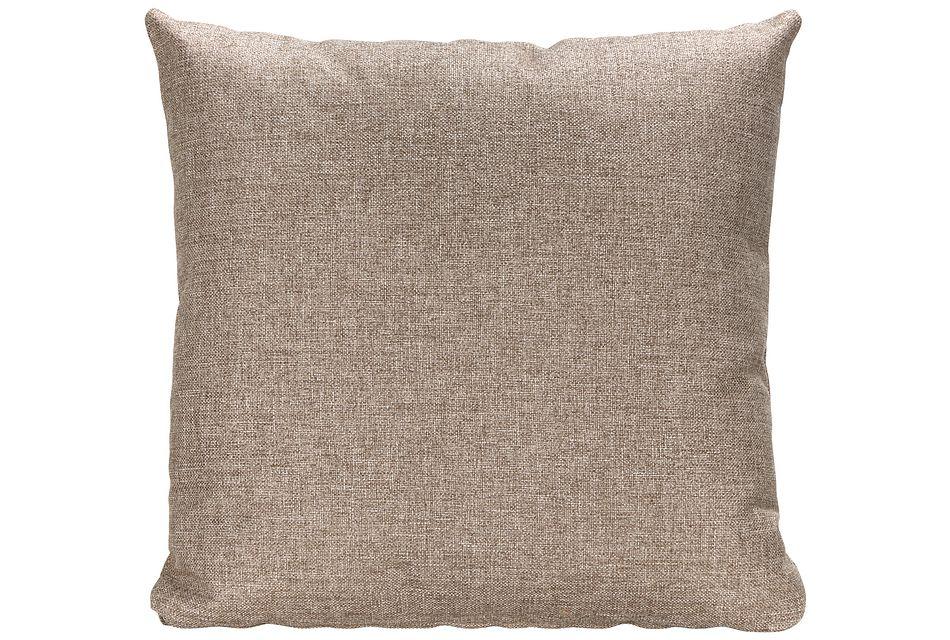 Harper Dark Taupe  Fabric Accent Pillow,  (0)