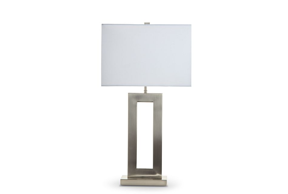 Bonita Silver Table Lamp