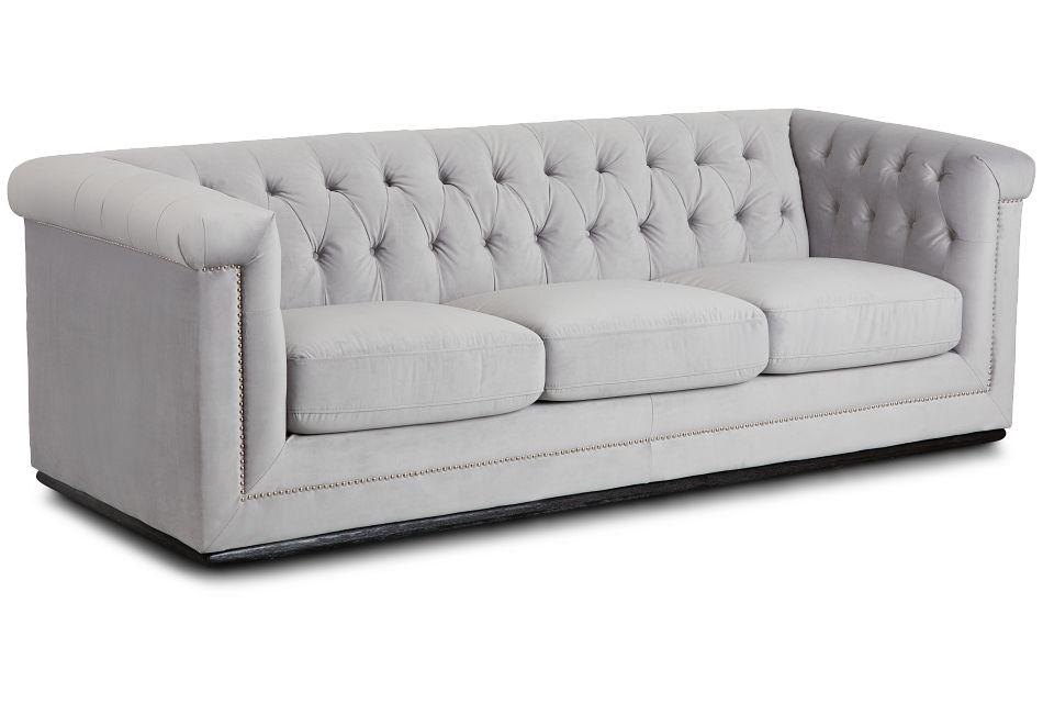 Blair Gray Micro Sofa