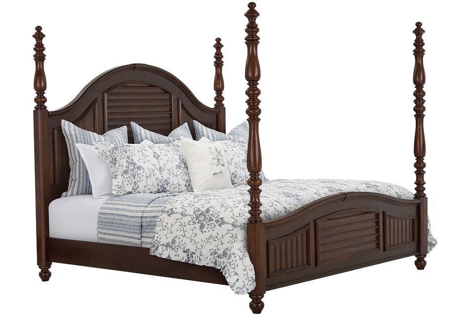 Savannah Dark Tone Poster Bed