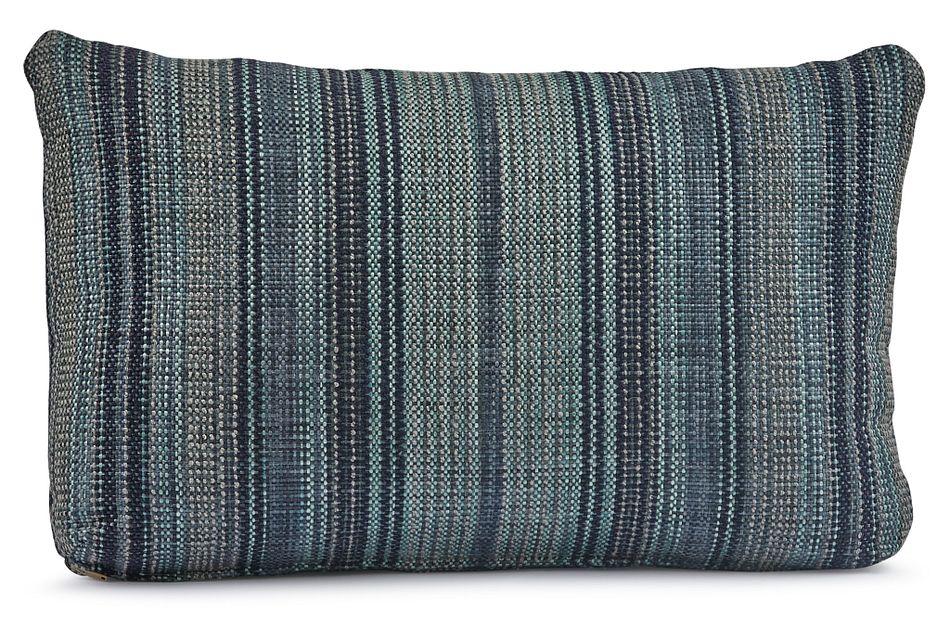 Nominate Blue Lumbar Square Accent Pillow