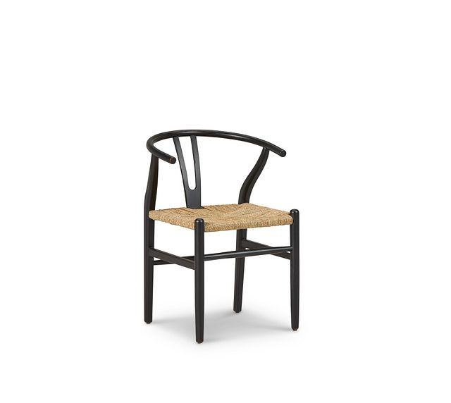 Moya Black Wood Side Chair (1)