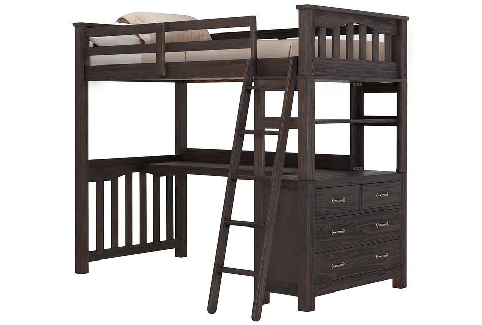Highlands Dark Tone Loft Bed