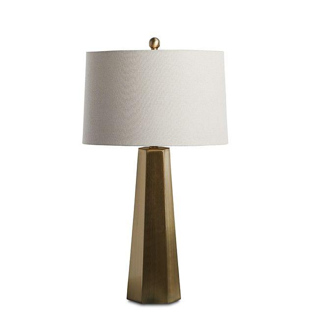 Marsham Light Beige Table Lamp (1)