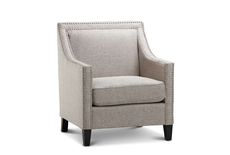 Erica Gray Fabric Accent Chair