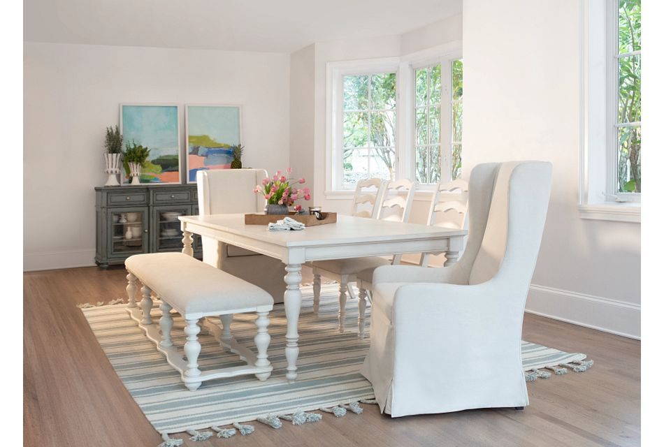 Savannah Ivory Rectangular Table