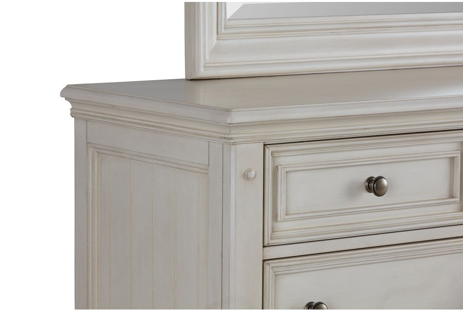 Savannah Ivory Dresser & Mirror