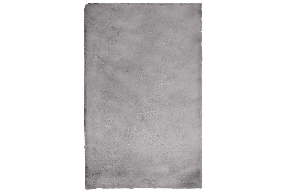 Kaycee Dark Gray 4x6 Area Rug