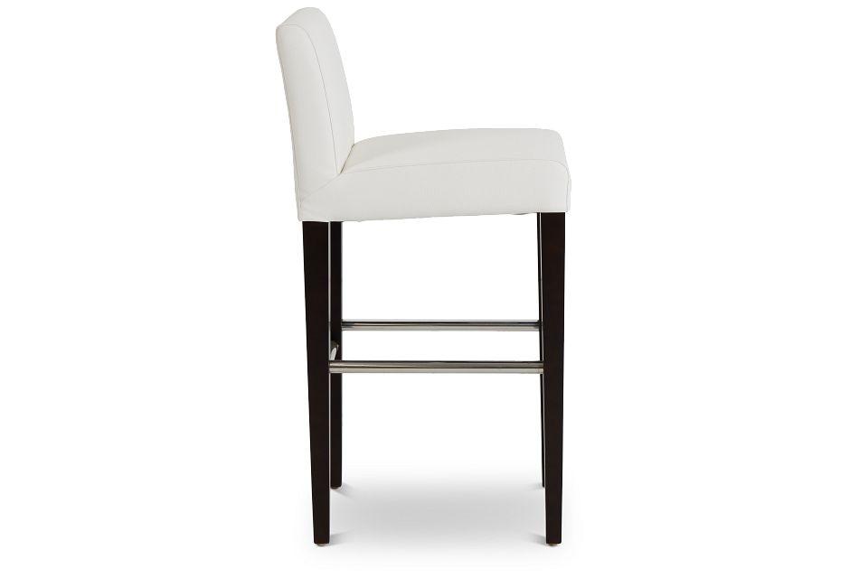 "Cane Whitemicro 30"" Upholstered Barstool,  (2)"