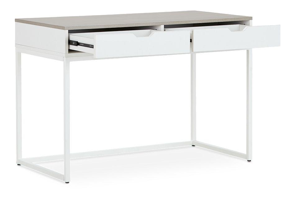 Delray Two-tone Writing Desk