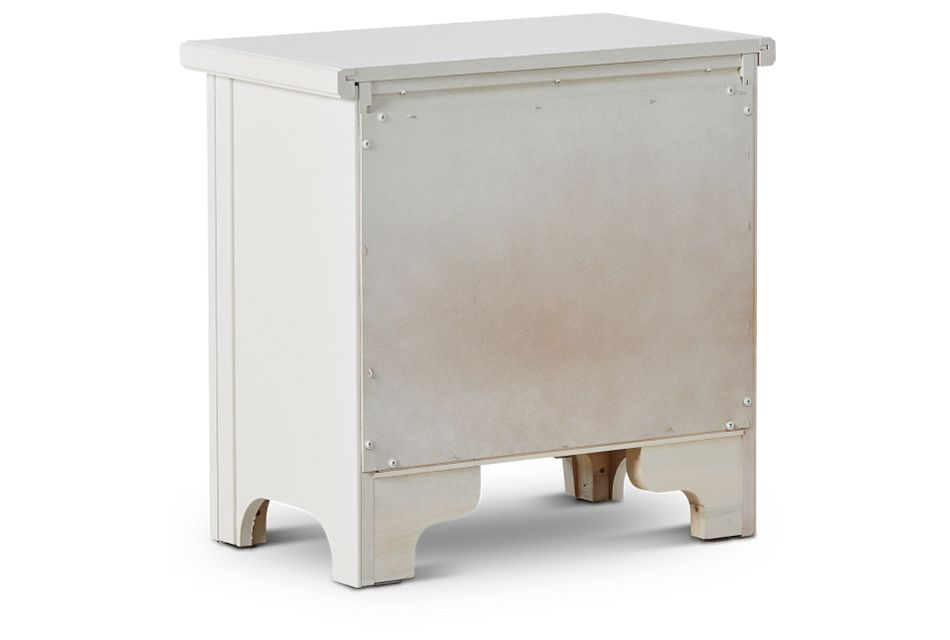 Bungalow Ivory 2-drawer Nightstand