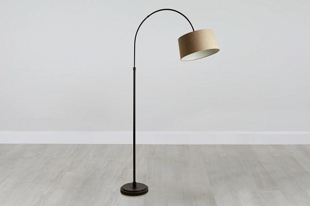 Posy Metal Arc Floor Lamp (0)