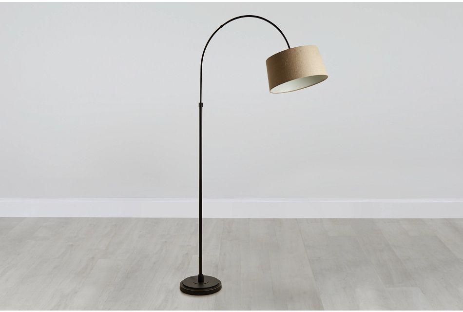 Posy Metal Arc Floor Lamp