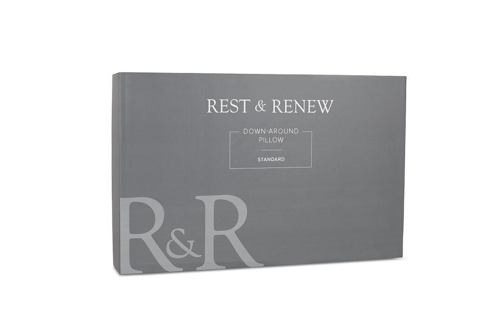 Rest & Renew Down Around   Back Sleeper Pillow