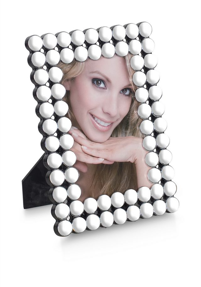 Khloe Silver Large Picture Frame (1)